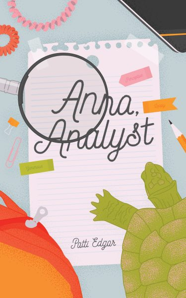 Anna, Analyst cover image with magnifying glass over text