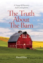 Cover image for The Truth About The Barn, featuring a barn in a farmer's field